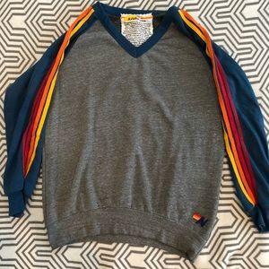 Aviator Nation V-Neck Sweatshirt